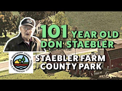 The Staebler Farm (near AA-Ypsilanti, MI) - a walking tour led by centenarian Don Staebler