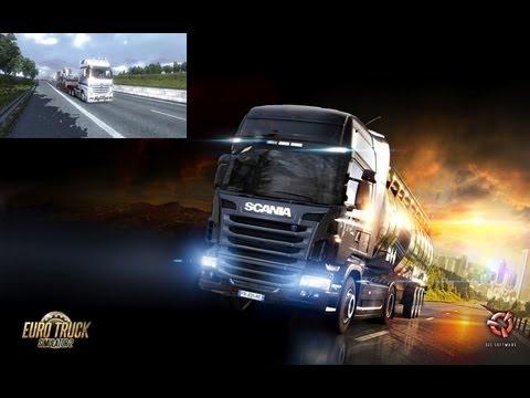 Euro Truck Simulator 2 (Milano to Sparti) Part 1 / Mercedes Actros MP4