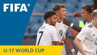 GOAL OF THE TOURNAMENT: Jann-Fiete Arp (GER) v Colombia - FIFA U-17 World Cup 2017