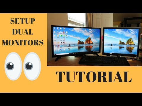 hook up multiple monitors windows 7
