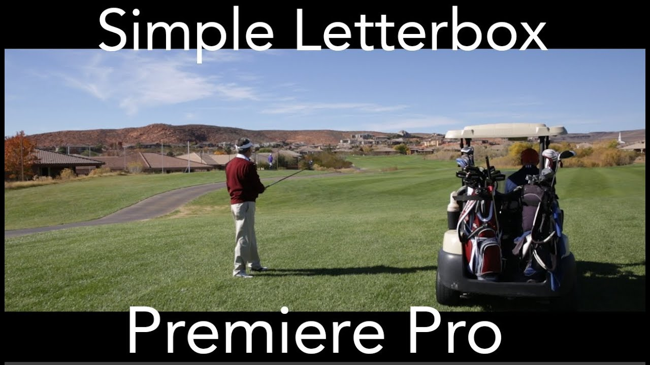 Creating a simple letterbox premiere pro no plugins required creating a simple letterbox premiere pro no plugins required youtube spiritdancerdesigns Choice Image