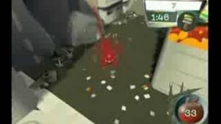 de Blob Paint Challenge Billboards trailer THQ DS Wii