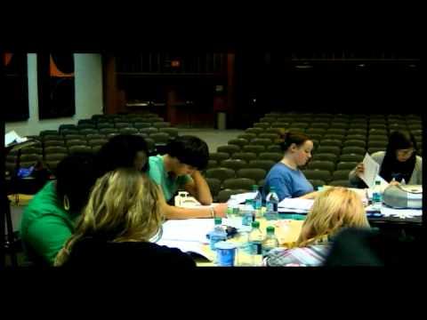 Cabaret Rehearsal Week 1 video