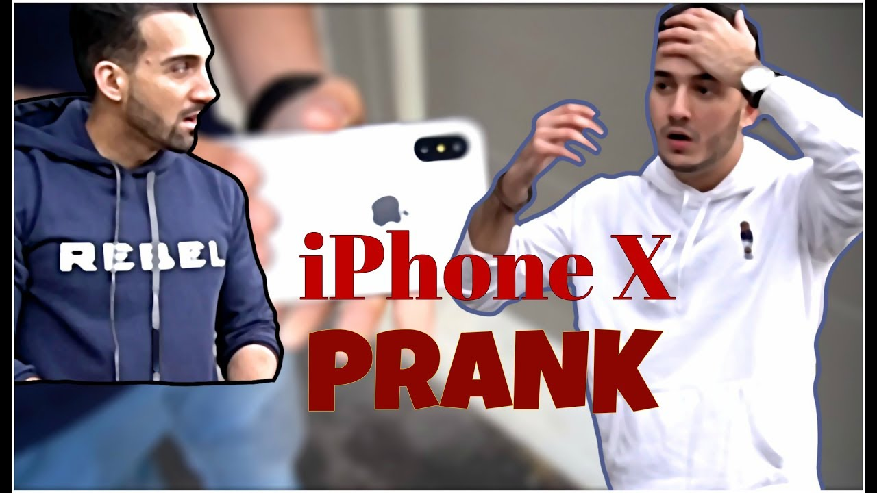 Breaking Iphone X Prank On Sham Idrees