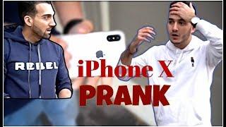 Breaking iPhone X PRANK on SHAM IDREES