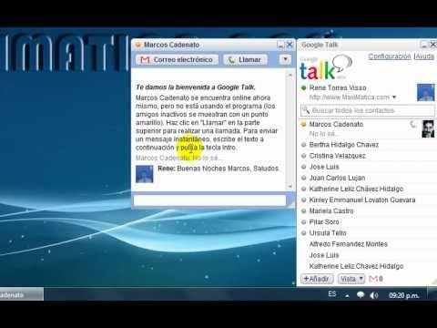Google Talk - Tutorial De Descarga E Instalación.