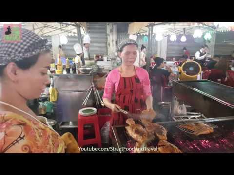 Vietnam Travel - Ben Thanh Night Market in Saigon 2017