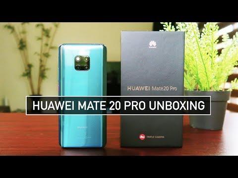 Huawei Mate 20 Pro Unboxing Pubg Fortnite Green Screen Test
