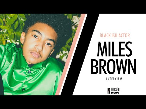 Thumbnail image for '<em>Black'ish</em> Star <strong>Miles Brown</strong> Is The Future'
