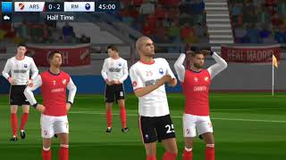 Real Madrid vs Arsenal   Dream League Soccer 2018   Android Game play #93