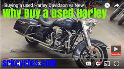 Buying a Used Harley Davidson vs. New