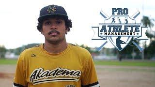 Esai Fiaz Diaz RHP - Class of 2017 Baseball Recruiting Video