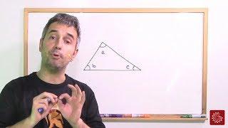 Soma dos ângulos internos de um triângulo (Demonstração)