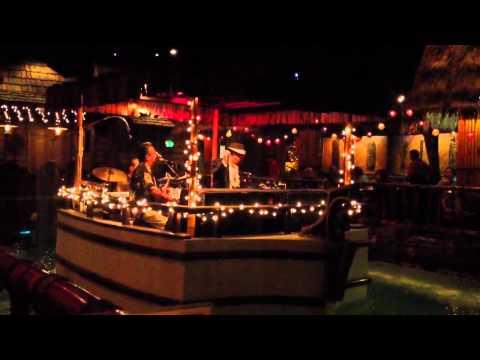 Tonga Room Fairmont Hotel San Francisco - Band on Barge Wit