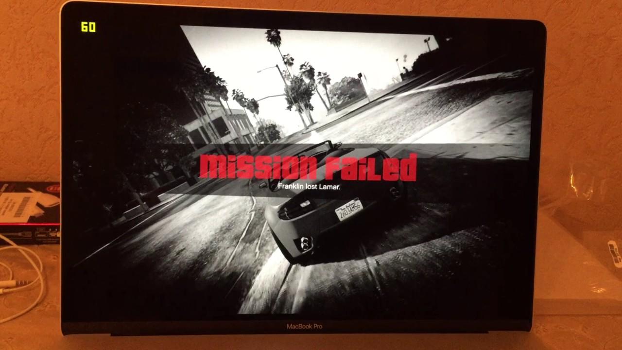 Macbook Pro 2016 15 Gaming Gta5 Part 1 Youtube