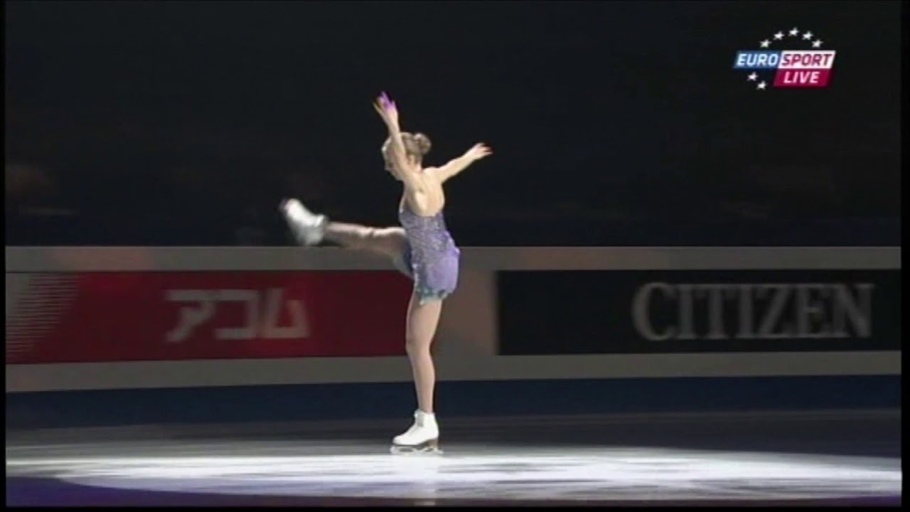 2017 NHK Carolina Kostner FS ESP - YouTube