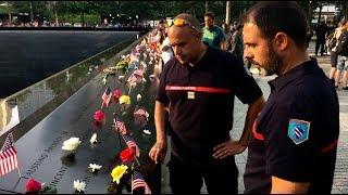 11 septembre: des pompiers français à New York pour les commémorations
