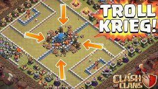DER TROLL KRIEG! ☆ Clash of Clans ☆ CoC