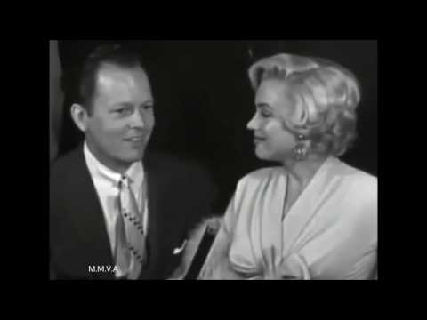 "Marilyn Monroe Archive Footage - Arriving In New York To Film ""The 7 Year Itch"" (Interview) 1954"