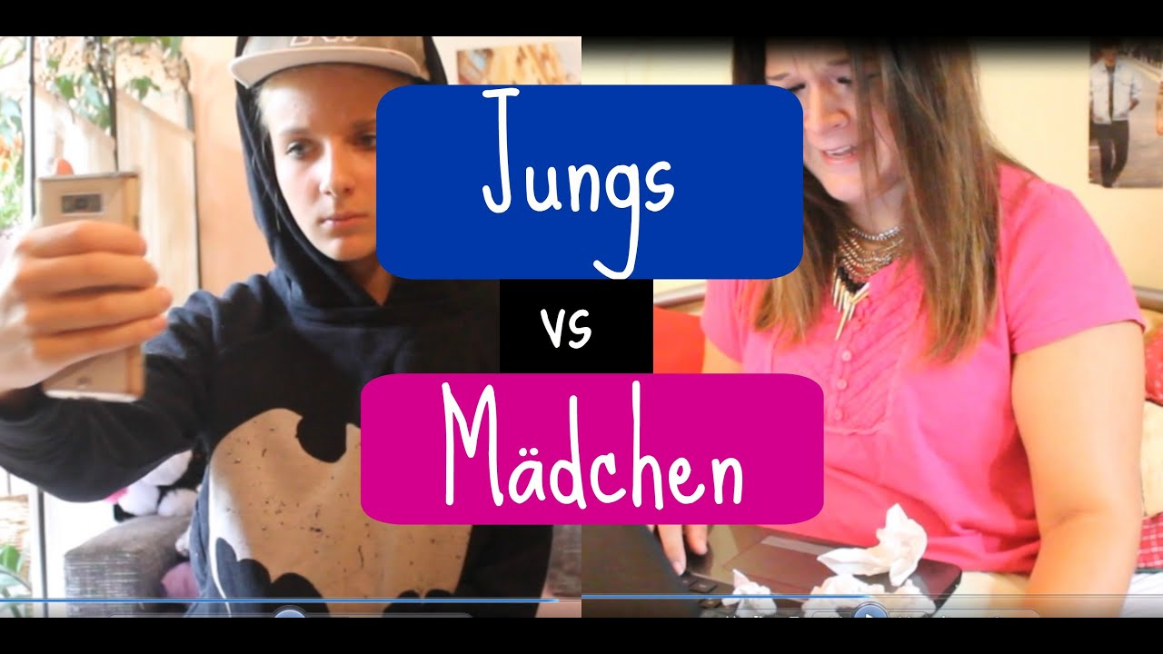 JUNGS VS. MÄDCHEN + Outtakes - YouTube