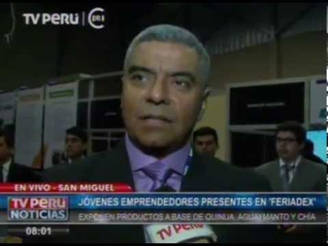 CANAL 7 / TV PERU NOTICIAS / FERIADEX PLAZA SAN MIGUEL