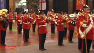 Buxton Military Tattoo 2011 - The Yorkshire Volunteers Band