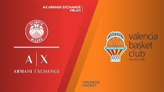 Armani Exchange Milan - Valencia Basket Highlights | EuroLeague, RS Round 15