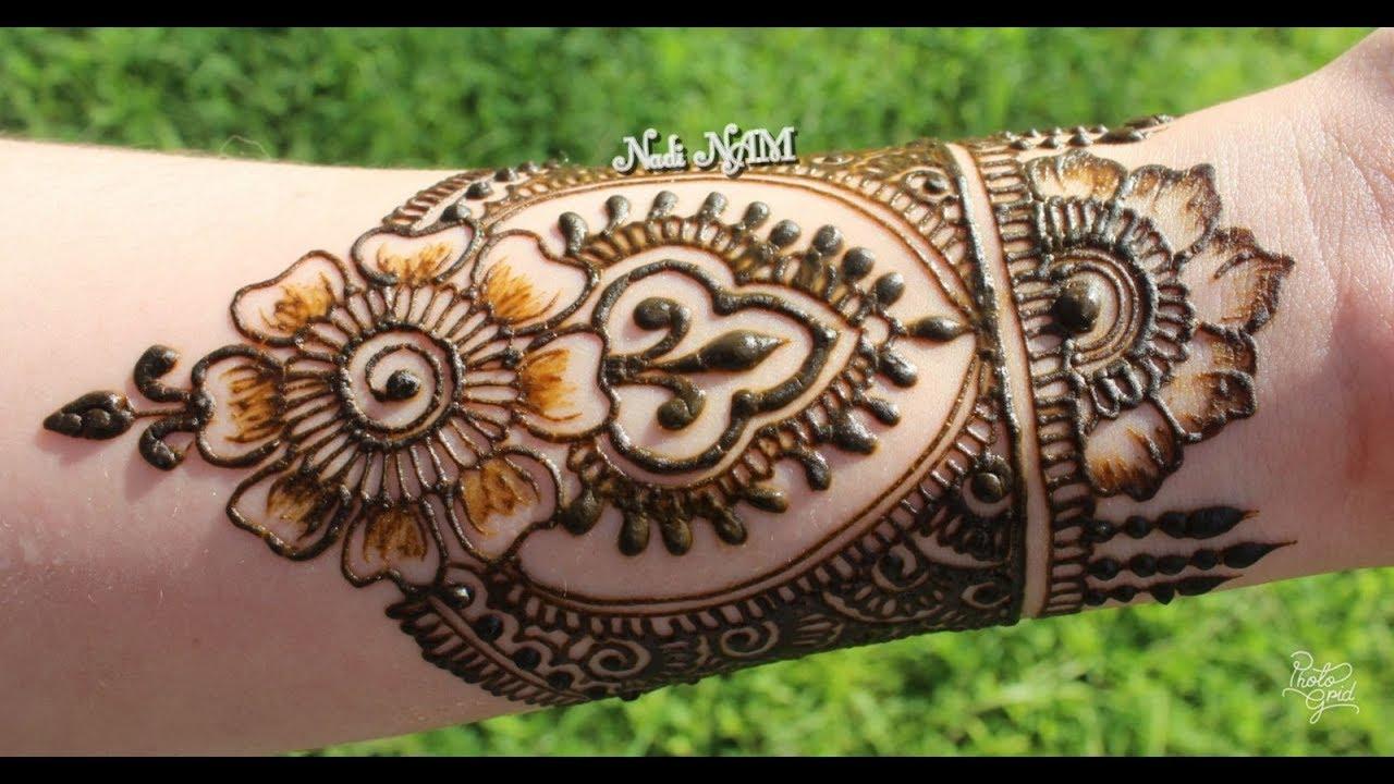 aeab71e25 Forearm Mehndi Design   Nadi NAM 🌿 - YouTube