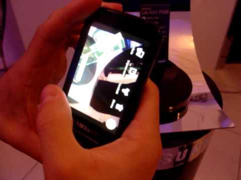 Presentazione Samsung Galaxy i7500