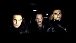 турецкий сериал Чёрно-белая любовь 21 серия.  На съёмках.