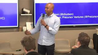 E795: Charles Hudson Precursor Ventures: how not to mess up Seed, product, team, investors, goals