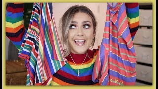 HUGE asos, Topshop & Urban outfitters try-on haul! | EmmasRectangle
