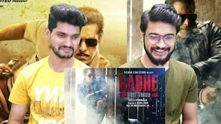 Dabangg 3 Motion Poster & Eid Radhe Ki REACTION VIDEO!!   Salman Khan   Prabhu Deva