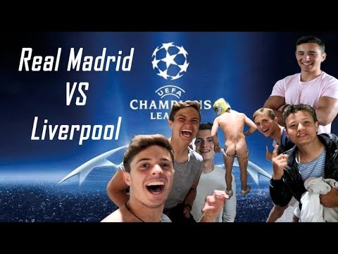 MI AMIGO Se DESNUDA En La FINAL  De La CHAMPIONS (Real Madrid 3-1 Liverpool)| ByLlompi