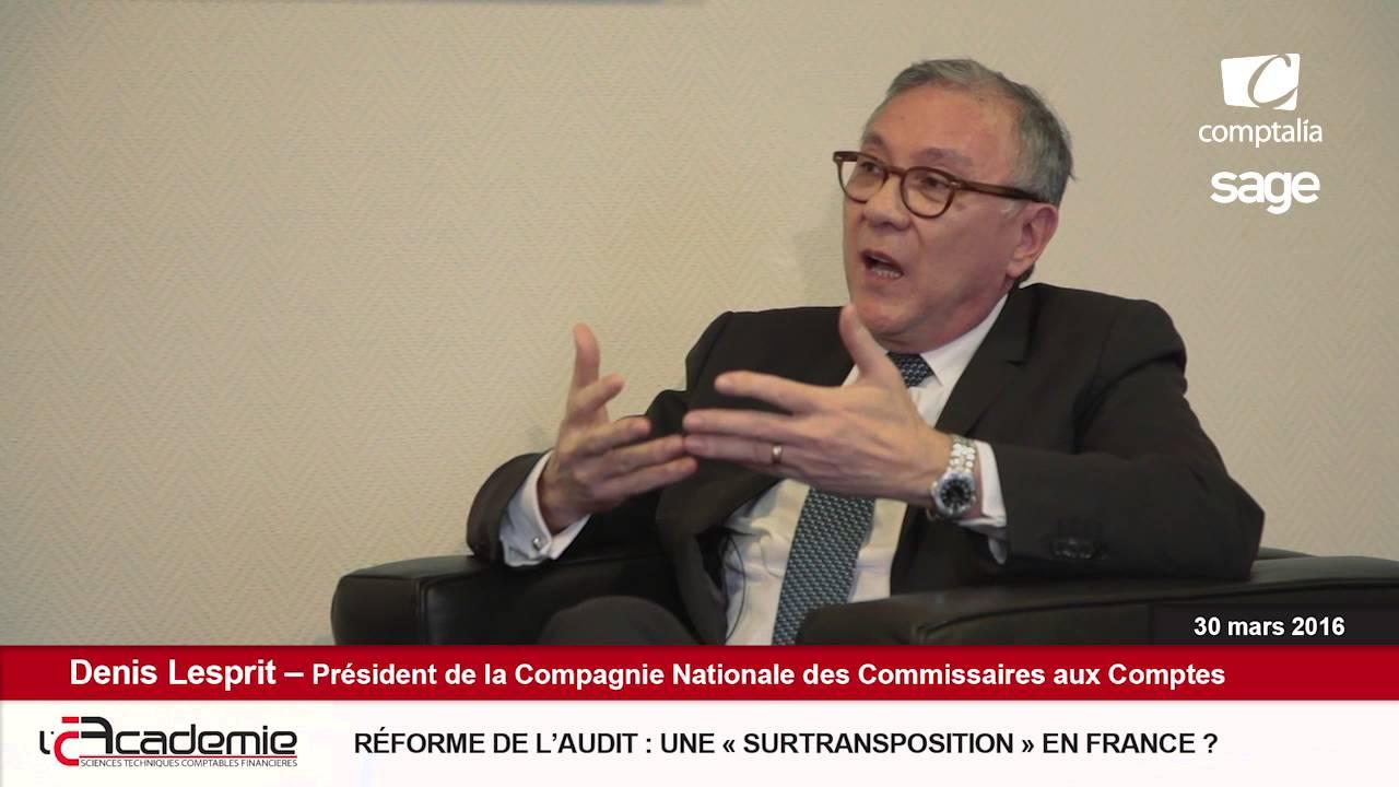 Les Entretiens de l'Académie : Denis Lesprit (1/7)