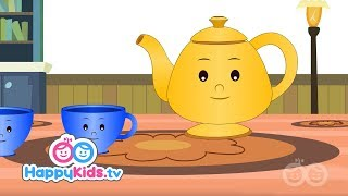 I Am A Little Teapot - Nursery Rhymes For Kids And Children   Baby Songs   Happy Kids