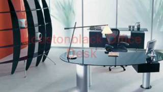 Modern Executive Desks, Desk Sets And Accessories.