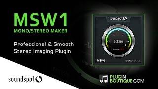 MSW1 - Stereo Width Plugin By SoundSpot