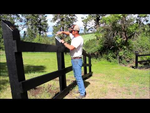 Building a Three Rail Fence