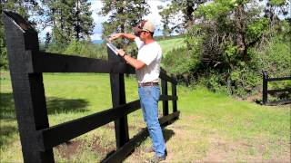 Brief descriptions of how to insure your new fence will stand up to the elements for many years.