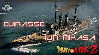 World of Warships : Cuirassé IJN Mikasa