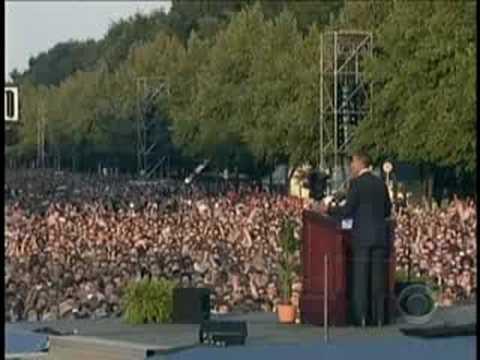 Obama Mania In Berlin