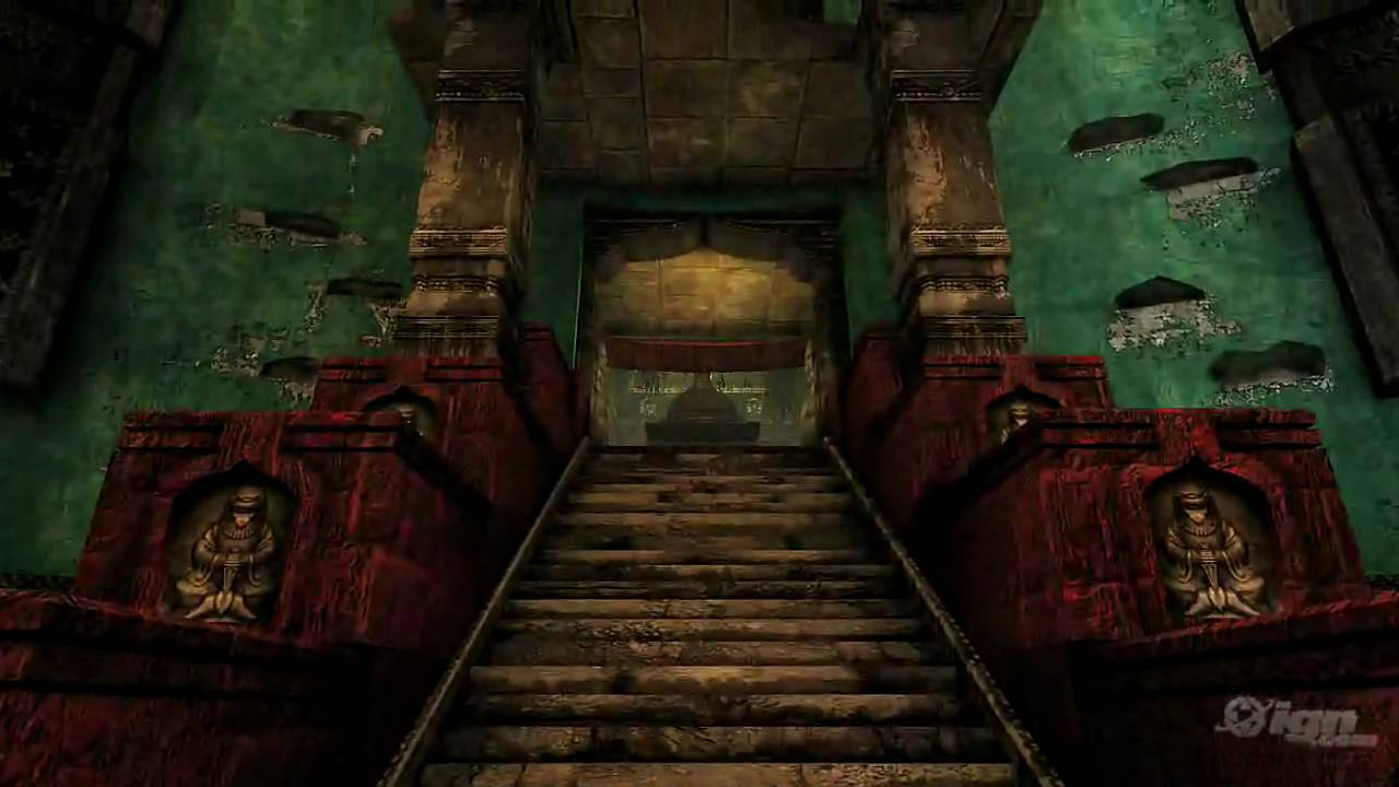 Uncharted 2: Among Thieves [Temple Fly Through] TRUE HD