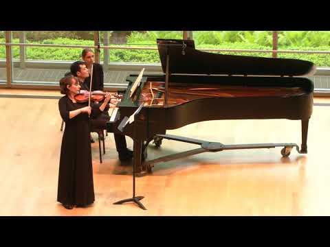 """Adrienne Harmon, violin and Sichen Ma, piano-Beethoven Sonata no.9, op. 47 """" Kreutzer"""""""