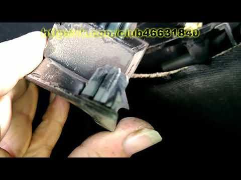 Как снять обшивку с задней двери Opel Astra J