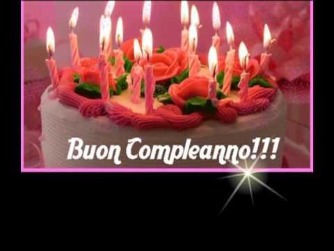 Con Affetto E Simpatia Buon Compleanno Amica Mia Youtube