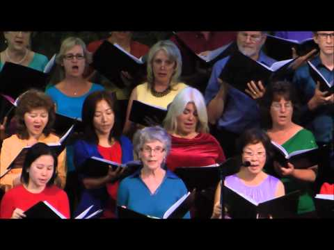 Let All the World in Every Corner Sing, Cupertino Chorus Magnus