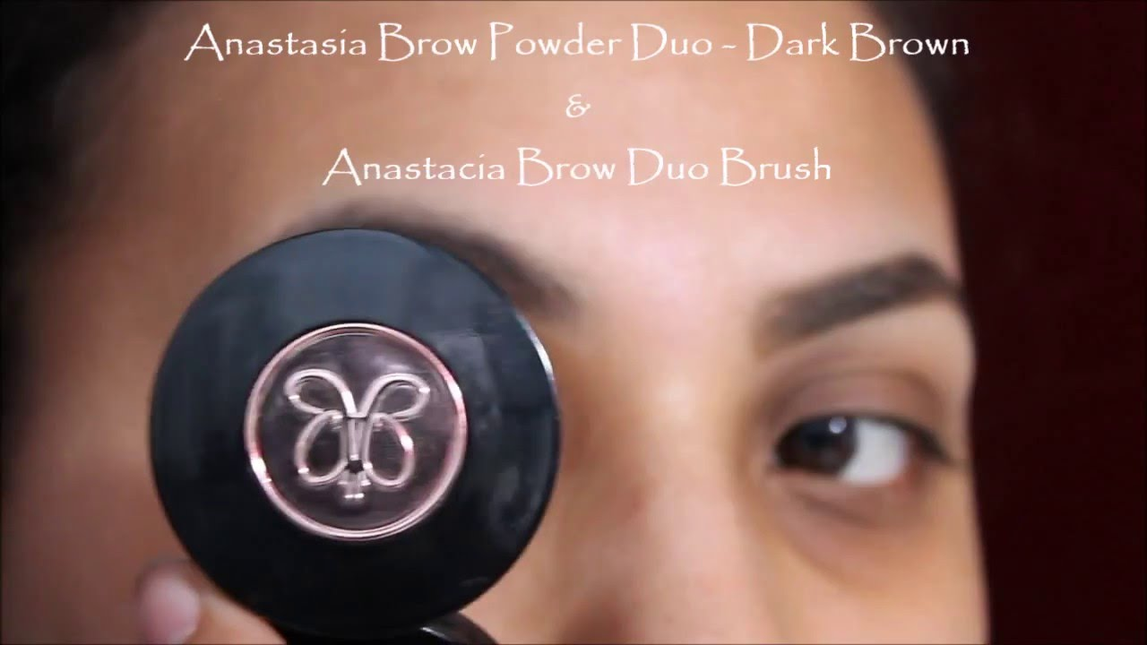 Natural Brow Fill In With Anastasia Brow Powder Duo Youtube