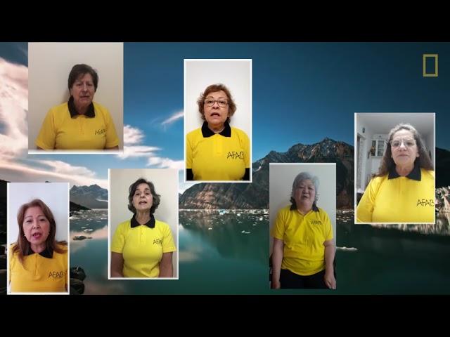 Vídeo Coral Vozes da AFAB Tocando em Frente