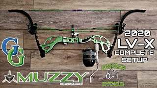 Complete Muzzy LV-X Bowfishing Setup Quick Draw Gargod Mike's Archery